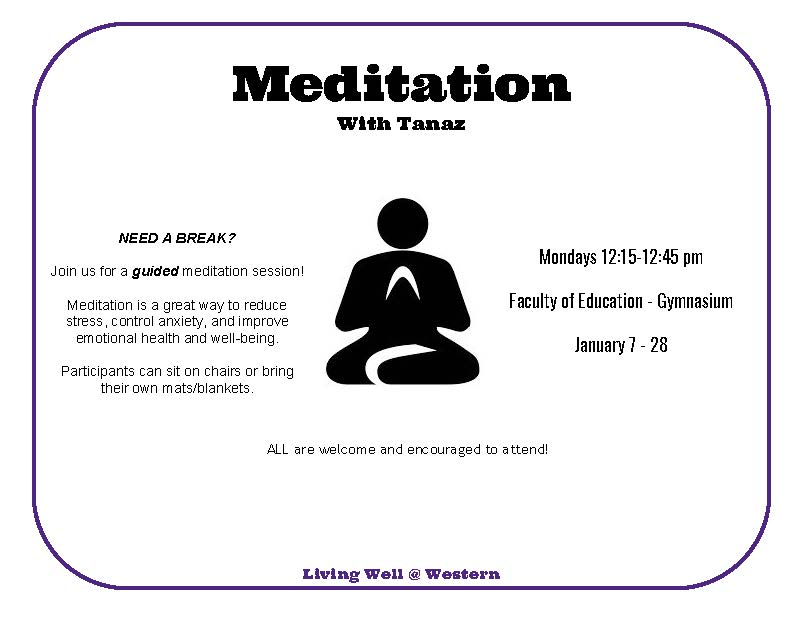 Meditation - Faculty of Education