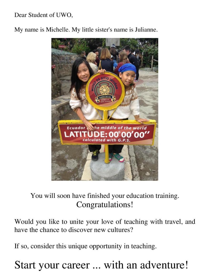 A Unique Teaching Job!-page-001