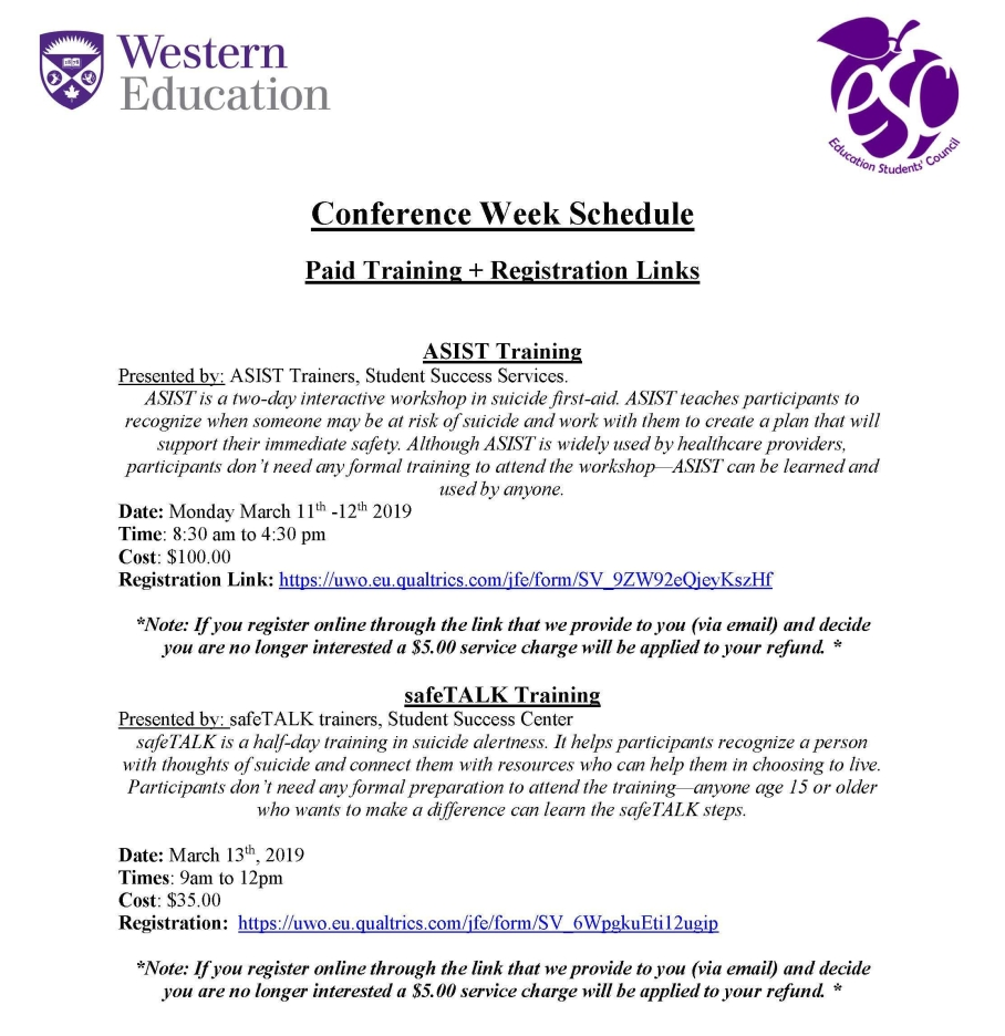 ESC March 2019 Conference Week Schedule as of Feb4_Page_1